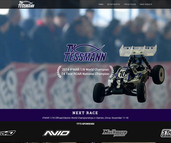 Ty Tessmann Website